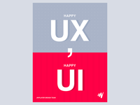 Happy UX, Happy UI
