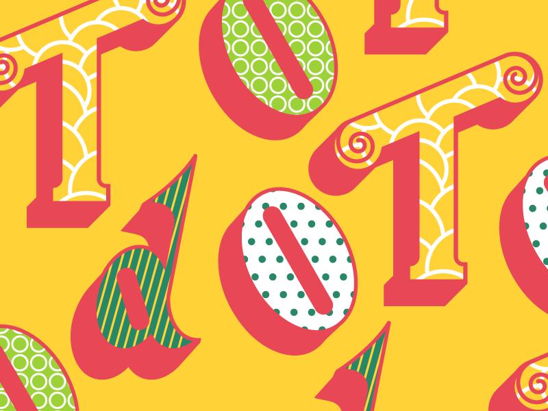 To Do typography art design type letterpress lettering vector brasil florianópolis