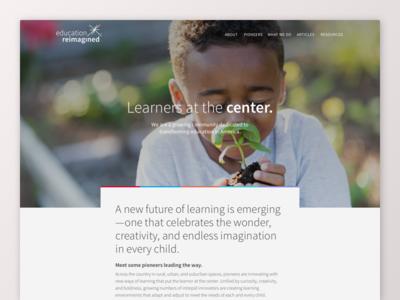 Education Reimagined - Site Launch