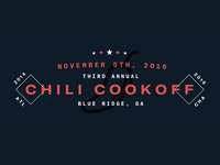 3rd Annual Chili Cookoff!