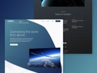 Airbus Aerial — Site Design