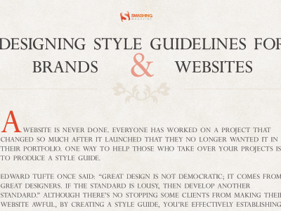 Smashing Magazine Article for my iPad smashingmagazine pdf typography texture