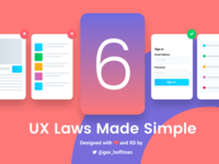 6 UX Laws Made Simple