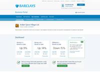 Barclays business portal concept