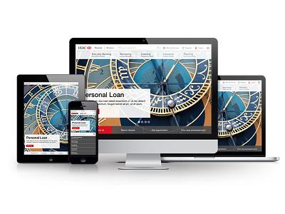 HSBC 2015 Vision concept direction creative ux design ui