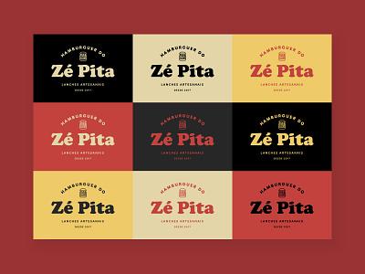 Logo - Ze Pita's Burger mark brand graphicdesign logo design design logo graphic design