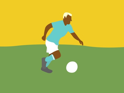 soccer player football soccer character design character design draw vector illustration