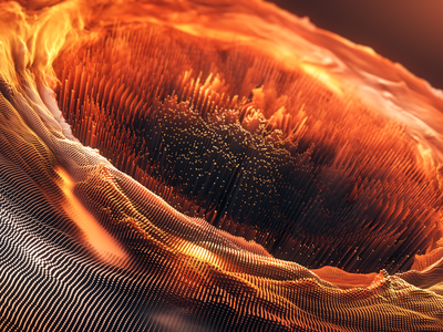 Fire Circle cinema4d c4d motiondesign cg fire cloner scatter octane render 3d