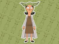 Louise Belcher X Yoda