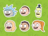 Rick & Morty Mascots