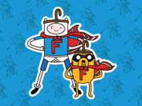 Finn & Jake X Quailman & Quaildog