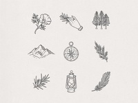 Wanderlust Icons