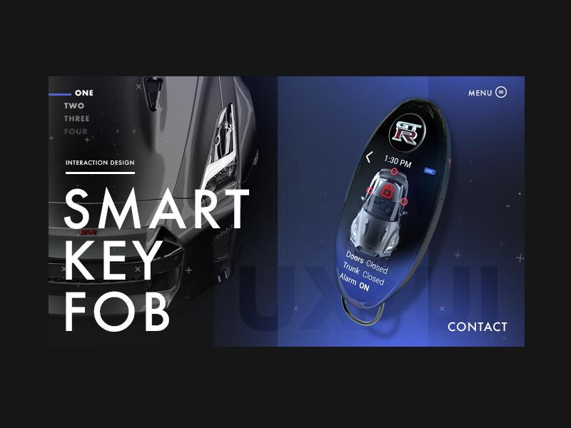 Key Fob App >> Gt R Smart Key Fob Concept By Danny Burnside On Dribbble