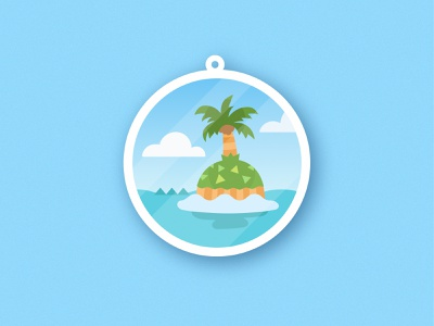 Island Charm animal crossing vector flat grainy grain design illustration illustrator