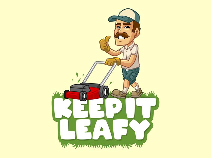 keep it leafy mascot logo mascot design logo mascot character logodesign mascot design vector illustration characterdesign branding