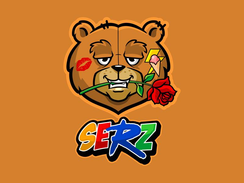 serz design vector illustration characterdesign branding