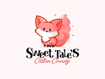 sweer tales cotton candy mascot design logo mascot character logodesign mascot design illustration vector characterdesign branding