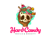 Hard candy nails and beauty