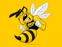 Wasp character design