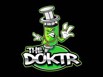 the doktr typography clothing clothing brand mascot logo mascot design mascot character logodesign vector mascot logo design illustration characterdesign branding