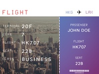Flight Typeface