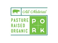 Organic Pork Label
