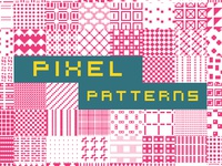 Pixel Patterns Typeface