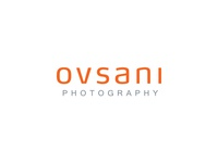 Ovsani Logo grey orange simple clean minimal branding inspiration design logo photography modern