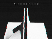 Architect Typeface video games vintage computer typeface font spain barcelona glitch minimal typography inspiration architecture