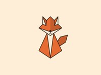 Origami Red Fox