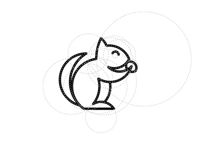 Circular Grid Squirrel