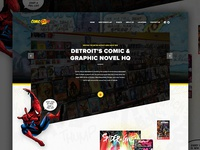 Comic Book Website