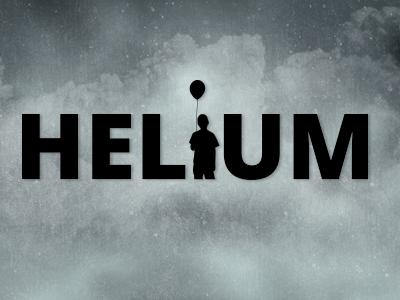 Helium Logo logo music helium beats helium open sans graphic design branding balloon