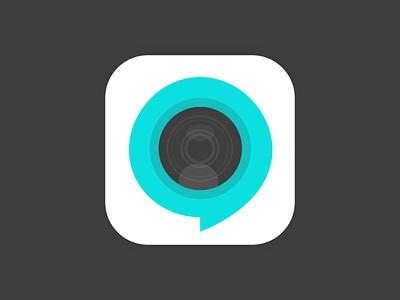 Video chat app icon ios app icon iphone app