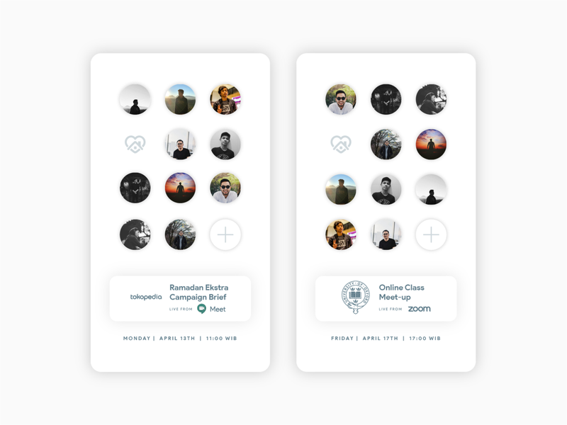 Meeting Management Cards people app vector design ios app design icon typography illustration illustrator graphic design uidesign interface uiux ux design ui design