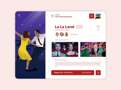 Movie Ticketing App - iPad