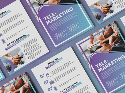 TELEMARKETING Brochure Design