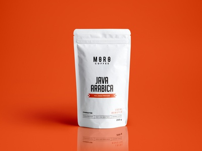 MORO COFFEE Packaging Pouch Design