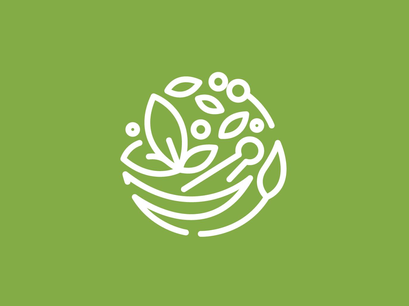 HERB LOGO DESIGN 1 herb logo logo design logo branding branding design monogram logo monoline logo logo