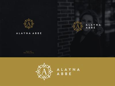 ALAYNA ABBE Logo Design