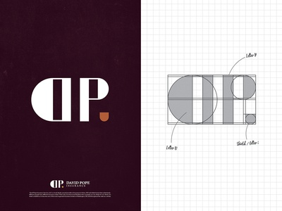 DAVID POPE INSURANCE Logo Design