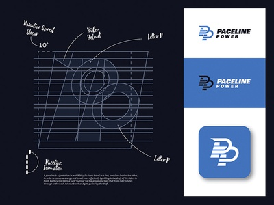 PACELINE POWER Logo Design