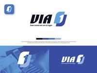 VIA 1 Logo Design