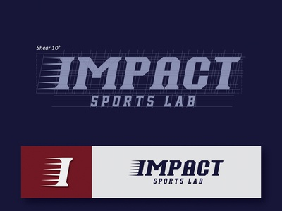 IMPACT SPORTS LAB Logo Design