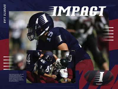 IMPACT SPORTS LAB Logo Design 2