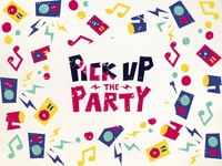 PICK UP THE PARTY Logo Design