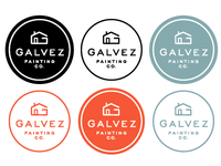 Galvez Painting Co.- Option 2 Colorways