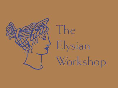 Elysian Workshop branding concept workshop greece illustration logo branding