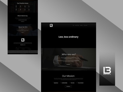 Law Website Design design vector psd design webdesign typography flat branding uidesign