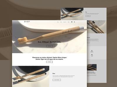 Website Design psd design branding typography layout ui homepage website